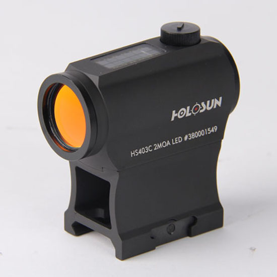 Holosun Red Dot 2  Solar with High/Low Mount