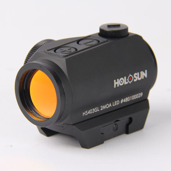 Holosun Red Dot 2  Auto Awake with High/Low Mount