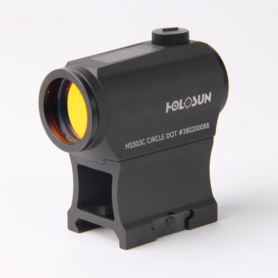 Holosun Red Dot Dual Reticle Solar with High/Low Mount