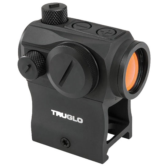 TRUGLO TRUTEC RED DOT 2OMM BLK