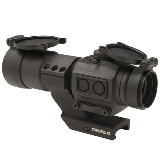 TRUGLO TRUTEC RED DOT 30MM BLK CNTL