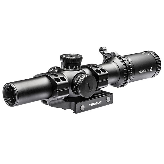 TRUGLO SCOPE OMNIA 1-4X24 30MM IR PKG