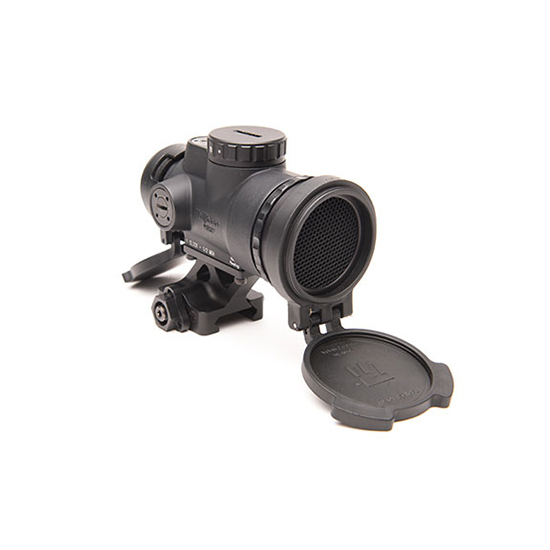Trijicon 1x25mm Patrol  with Miniature  Optic (MRO) 2.0  Adjustable Red Dot Reticle with Full Co-Witness Quick Release Mount, Black