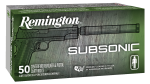 Advanced Armament Subsonic, Rem 28435 S9mm9    Subsonic 9mm  147 Fneb 50/10
