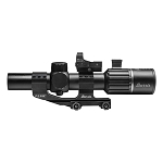Burris M-Tac 1-6x24mm, 30mm Tube, Illuminated Ballistic AR Reticle with FastFire III/Mount