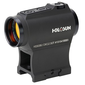 Holosun Red Dot Dual Reticle Side Mount Battery with High/Low Mount