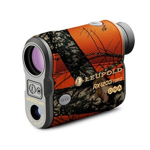 Leupold RX-1200i TBRW with DNA Digital 6x22mm Laser Rangefinder, Orange Camo