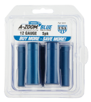 Pachmayr Shotgun Training Rounds, Azoom 12311 Blue Snap Caps 12ga 5pk
