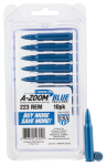 Pachmayr Rifle Training Rounds, Azoom 12322 Blue Snap Caps 223  10pk