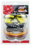 Radians T-85, Rad T85rc      Glasses 5 Lens Set