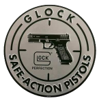 Glock Safe Action, Glock Ad00060  Safe Action Alum Sign