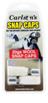Carlsons Snap Cap, Carl 00106 Wool Snap Caps 20ga     2pk