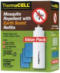 Thermacell Repellent Refill, Ther E4     Earth Scent Value 12rep/4bu
