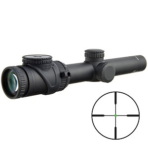 TRIJICON ACCUPOINT 1-6X24 GRN DUP 30MM