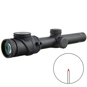 TRIJICON ACCUPOINT 1-6X24 RED TRI POST 30MM