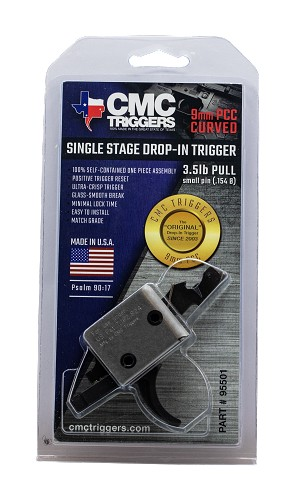 Cmc Triggers Drop-in, Cmc 95501  Ar Dropin Sng Curve 3-3.5lb  9mm